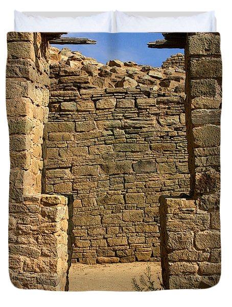 Notched Doorway Duvet Cover by Joe Kozlowski