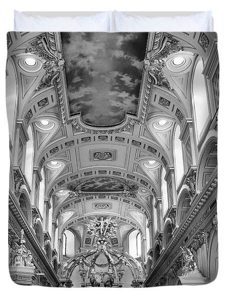Notre-dame Basilica Duvet Cover