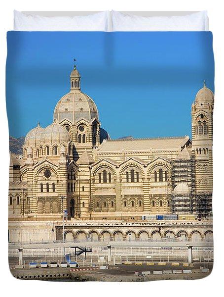 Notre Dame De La Garde, Marseille Duvet Cover