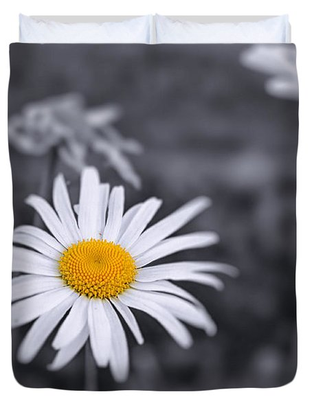 November Daisy Duvet Cover