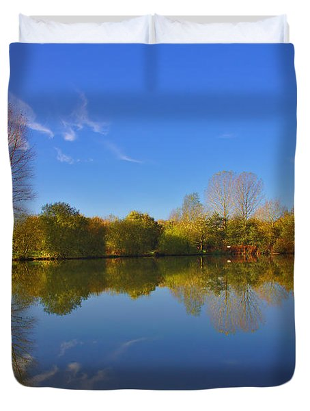 November Lake 1 Duvet Cover