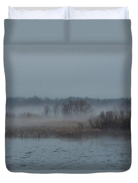 November Mist Duvet Cover