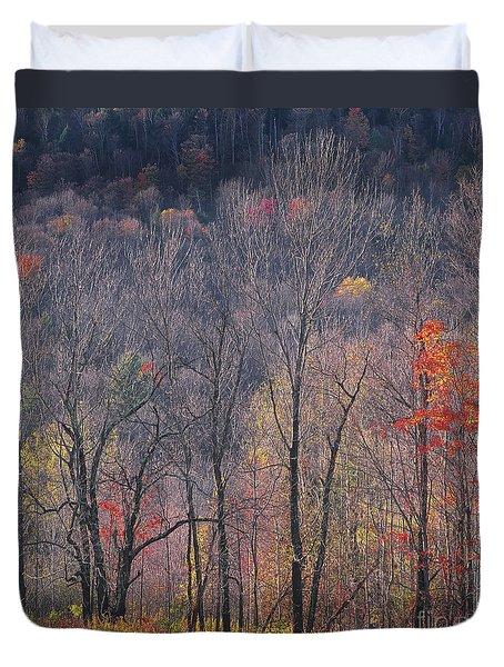 November Woods Duvet Cover