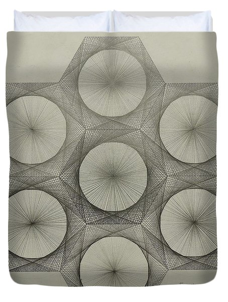 Nuclear Fusion Duvet Cover