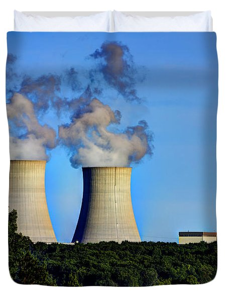 Nuclear Hdr1 Duvet Cover