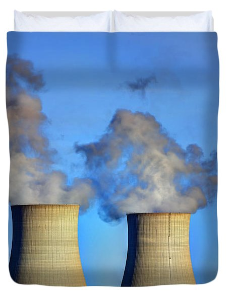 Nuclear Hdr2 Duvet Cover
