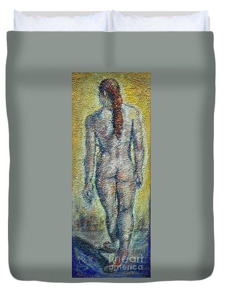 Nude Brunet Duvet Cover