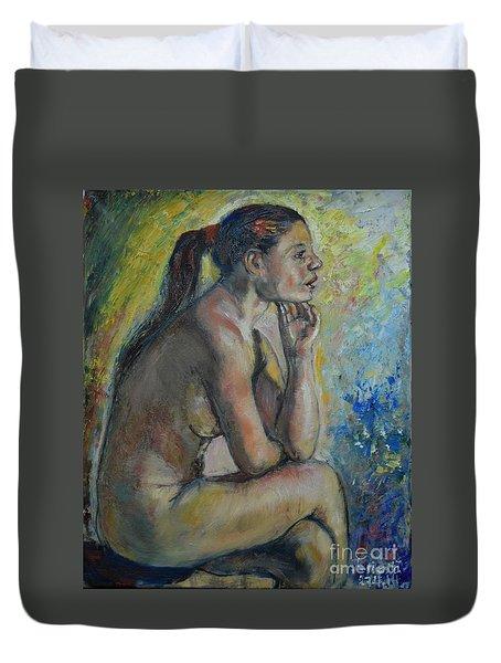 Nude Eva 2 Duvet Cover