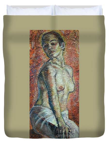 Nude Lisbeth Duvet Cover