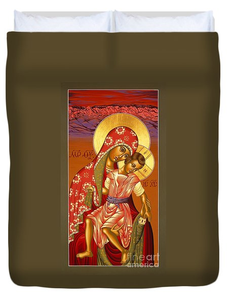 Nuestra Senora De Las Sandias 008 Duvet Cover by William Hart McNichols