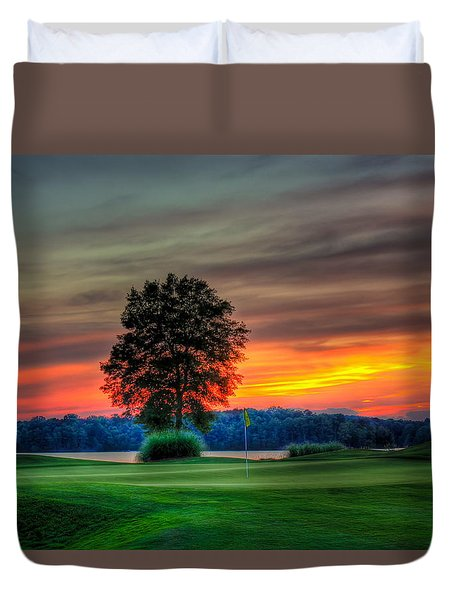 Number 4 The Landing Reynolds Plantation Art Duvet Cover