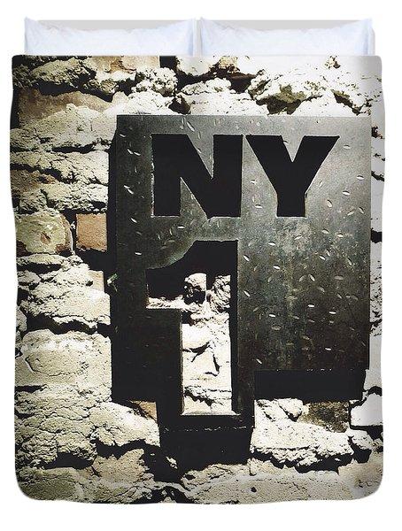 NY1 Duvet Cover