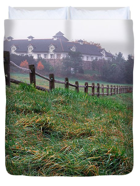 Nyala Fog Duvet Cover