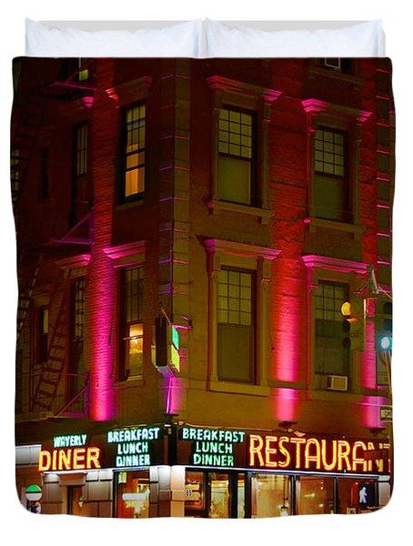 Waverly Diner Duvet Cover