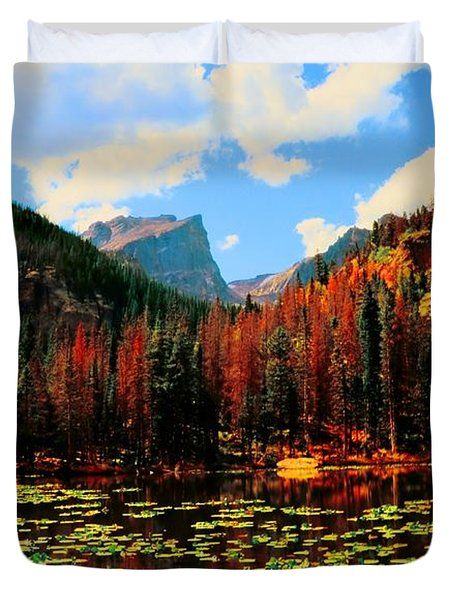 Nymph Lake Duvet Cover by Kathleen Struckle