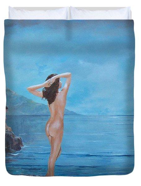 Nymphs Duvet Cover