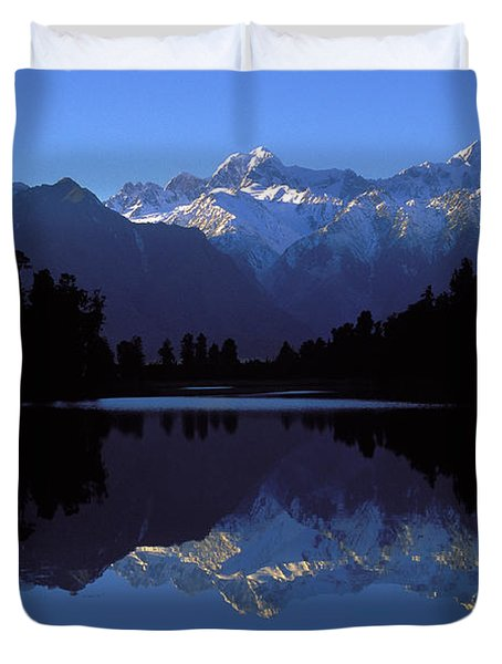 New Zealand Alps Duvet Cover
