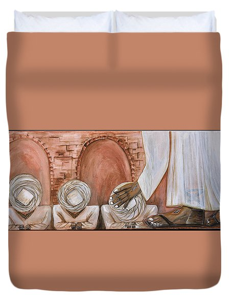 O Egypt Duvet Cover by Cassie Sears