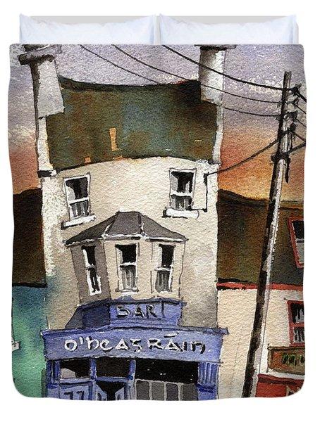 O Heagrain Pub Viewed 115737 Times Duvet Cover