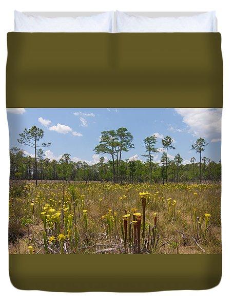 O Sarracenia Duvet Cover