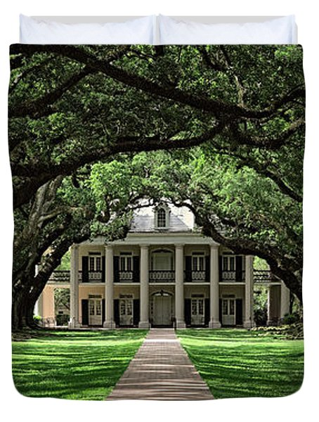 Oak Alley Duvet Cover