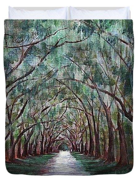 Oak Avenue Duvet Cover