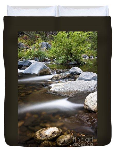 Oak Creek Flowing Duvet Cover