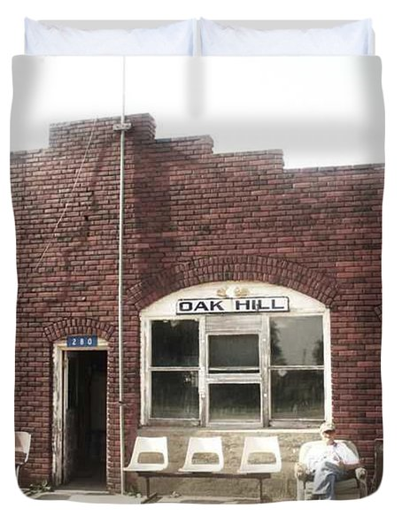 Oakhill Kansas Downtown Duvet Cover