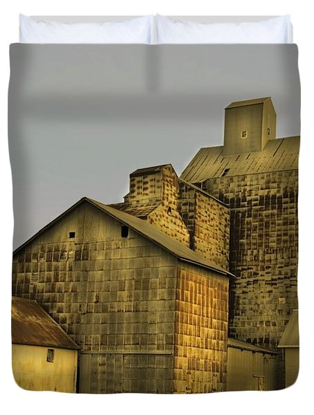 Oakwood Elevator Duvet Cover