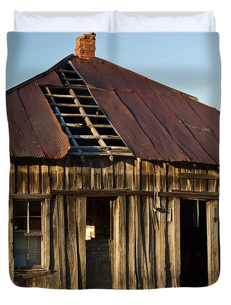 Oalold House Place Arkansas Duvet Cover by Douglas Barnett