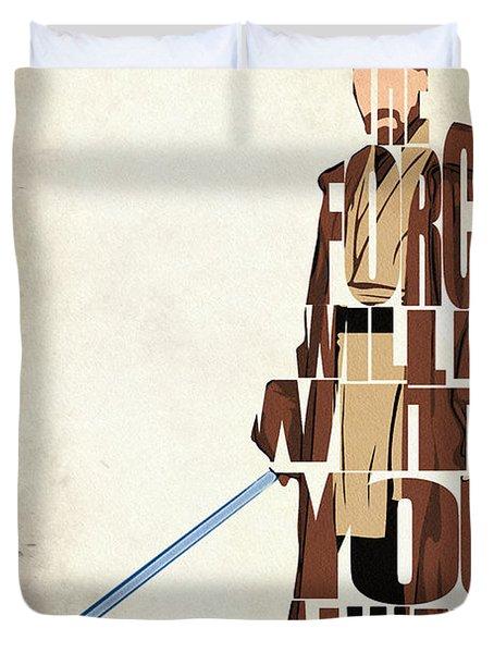 Obi-wan Kenobi - Ewan Mcgregor Duvet Cover
