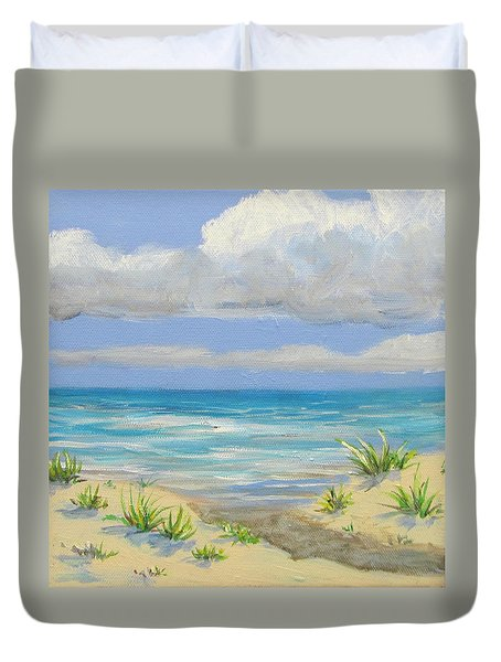 Obx Dune Duvet Cover by Anne Marie Brown