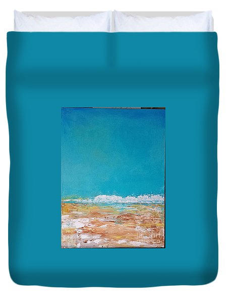 Ocean 2 Duvet Cover by Diana Bursztein