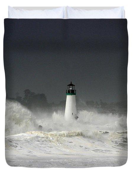 Ocean A Fury Duvet Cover