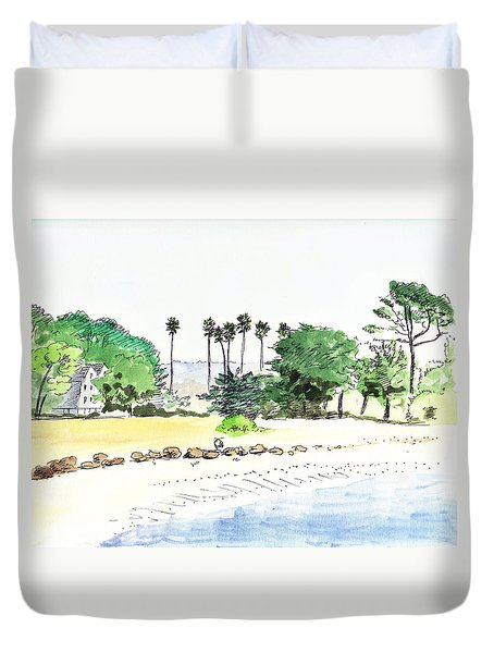 Ocean Beach Duvet Cover