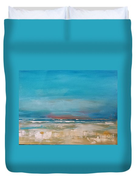 Ocean Duvet Cover by Diana Bursztein
