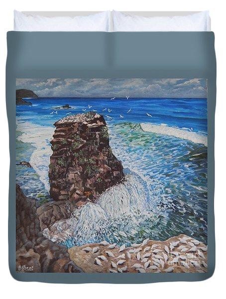 Ocean Dream Duvet Cover by Caroline Street