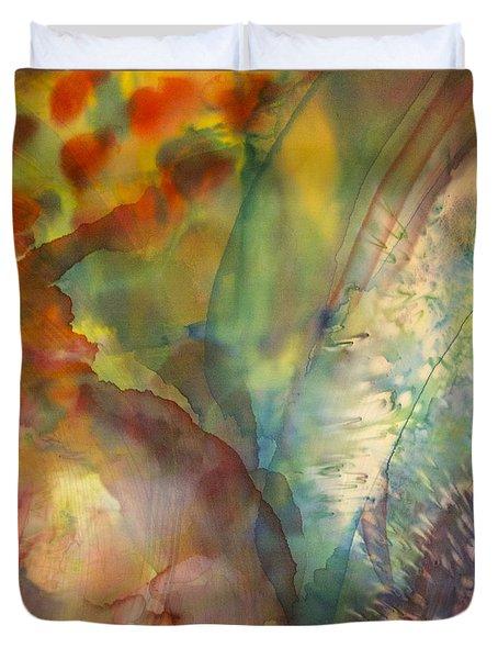 Ocean Eight Duvet Cover by Beverly Johnson