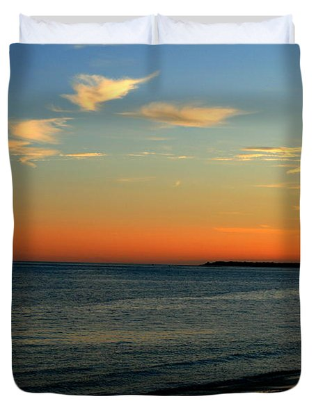 Ocean Hues No. 2 Duvet Cover