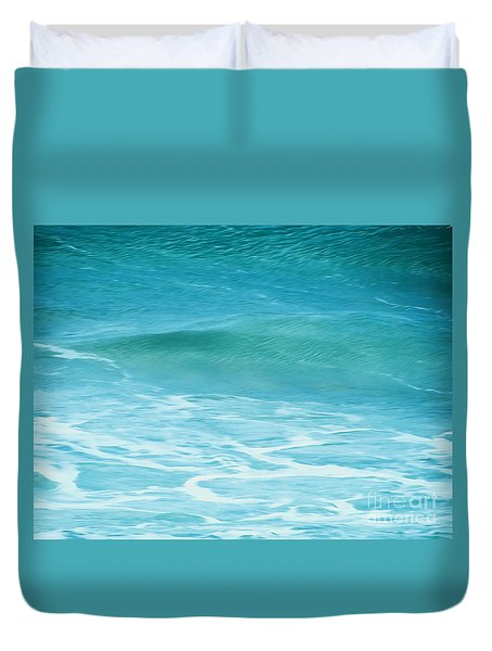 Ocean Lullaby Duvet Cover by Roselynne Broussard