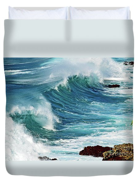 Ocean Majesty Duvet Cover by Patricia Griffin Brett