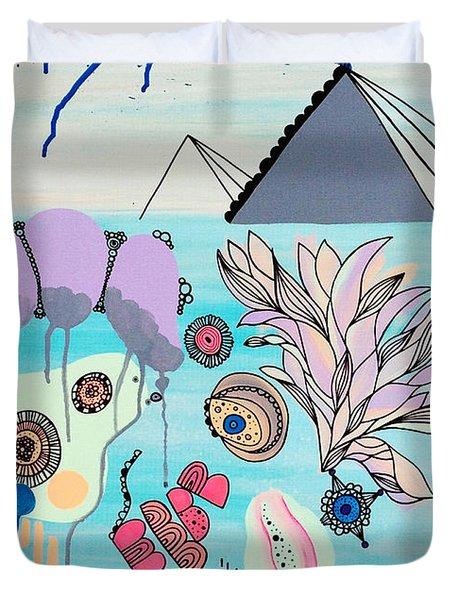 Ocean Parade Duvet Cover by Susan Claire