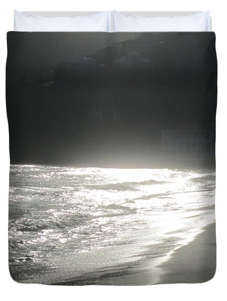 Ocean Smile Duvet Cover by Fiona Kennard