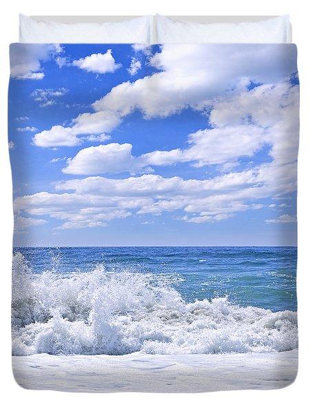Ocean Surf Duvet Cover