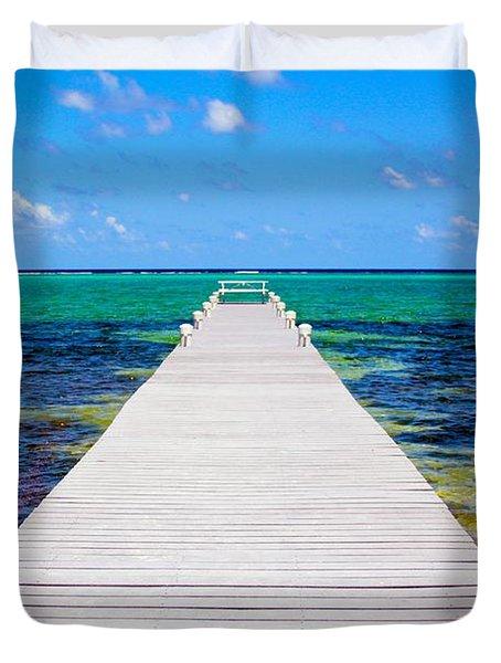 Ocean Walkway Duvet Cover
