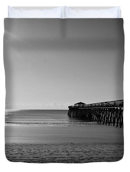 Ocean's Calm Duvet Cover