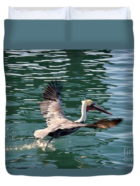 Duvet Cover featuring the photograph Oceanside  by Laurie Lundquist