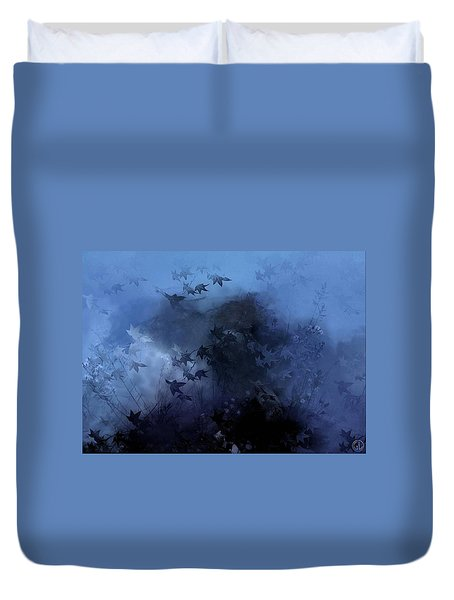 October Blues Duvet Cover