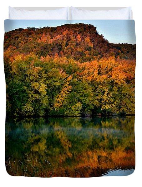 October Bluffs Duvet Cover