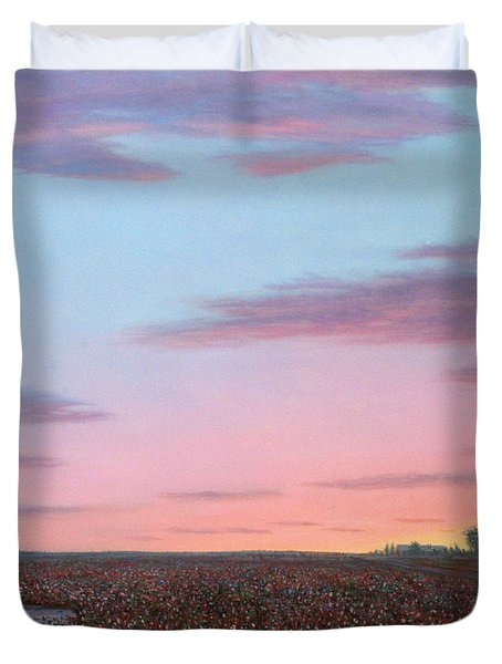 October Cotton Duvet Cover by James W Johnson